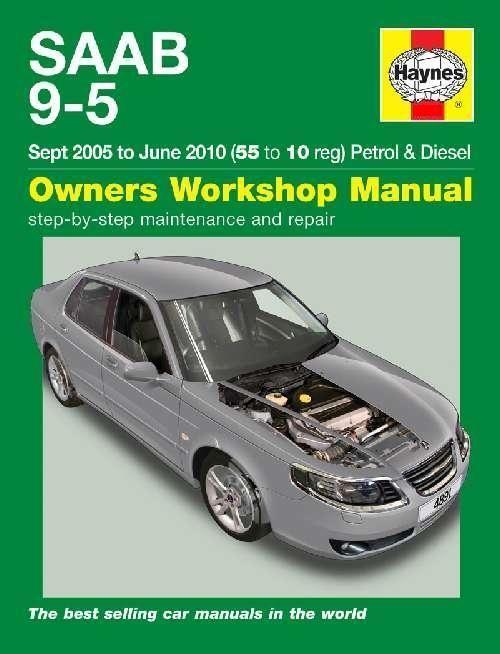 saab 9 5 shop manual service repair book haynes chilton turbo 95 rh pinterest com Saab Repair Do It Yourself Saab Repair Manual 2003
