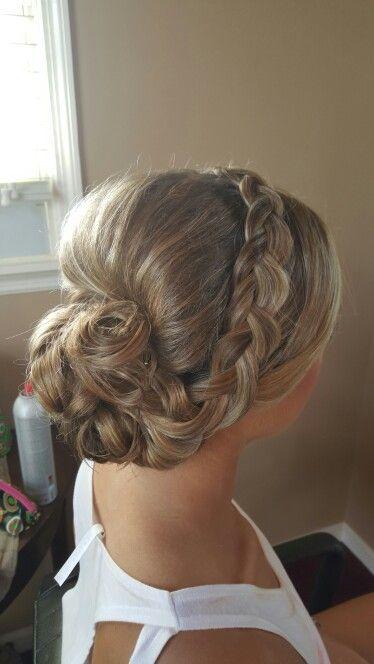 Bridesmaid   Big bun hair, Hair due, Bridal hair and makeup