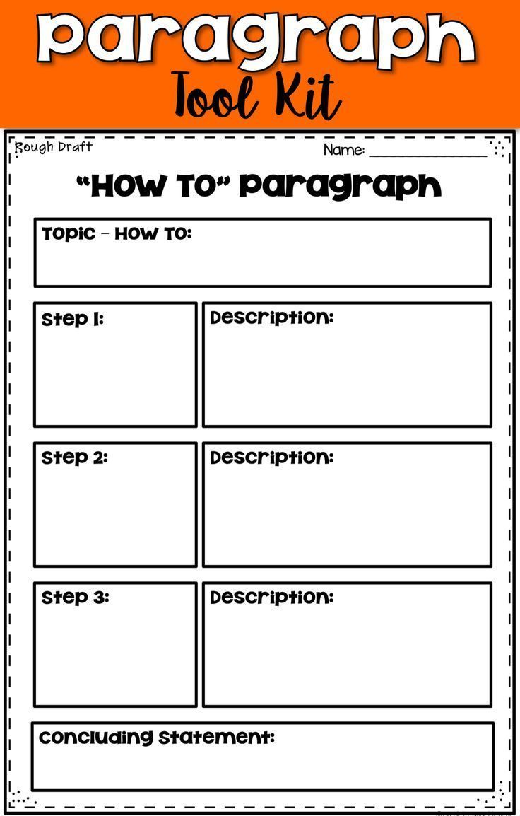 Develop Writing Skills In Your 1st 2nd 3rd 4th Grade Classroom And Home School Students With This Para Paragraph Writing Teaching Writing Homeschool Writing [ 1154 x 736 Pixel ]