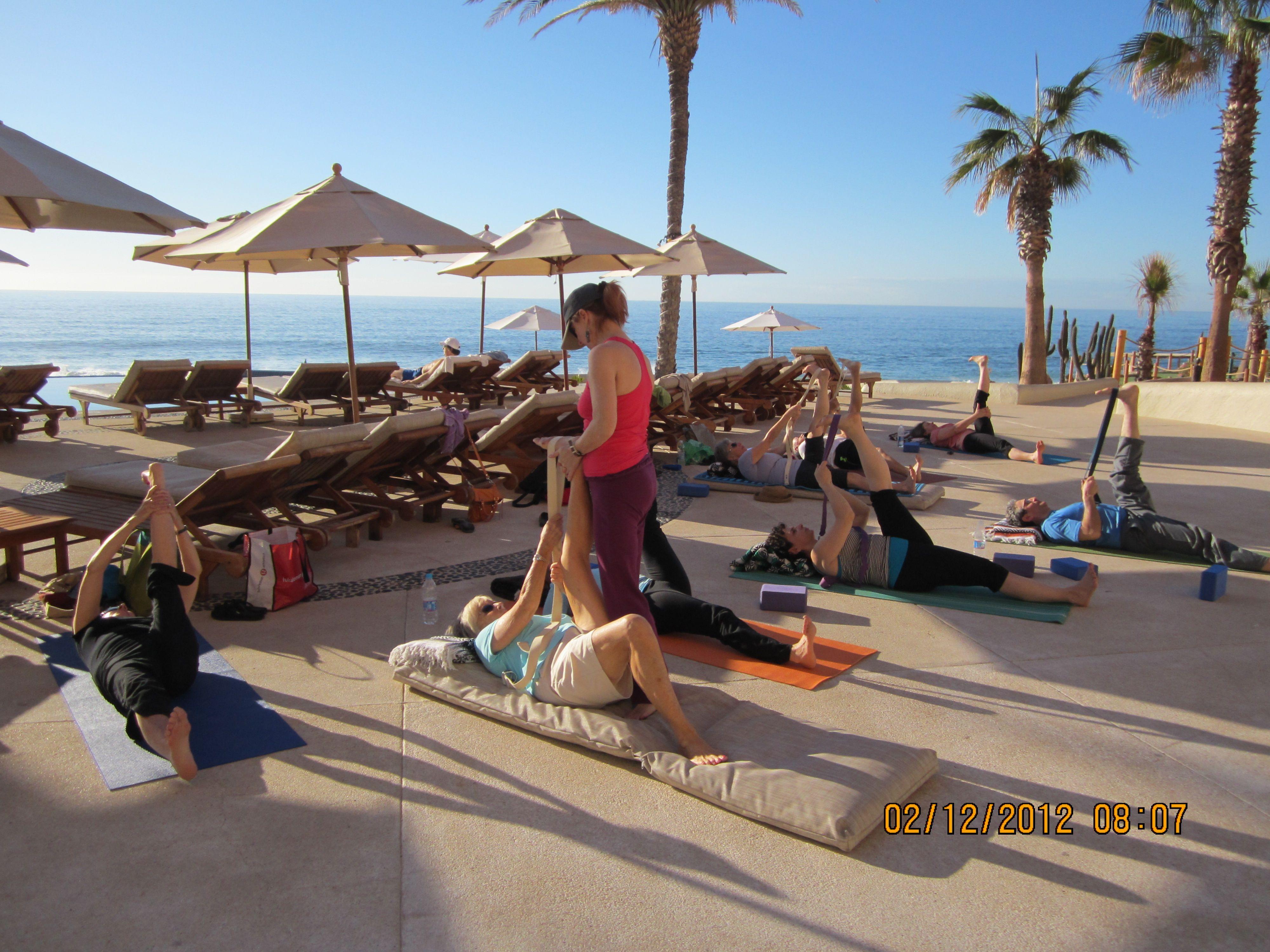 Yoga on the Beach Yoga vacation, Yoga retreat, Yoga