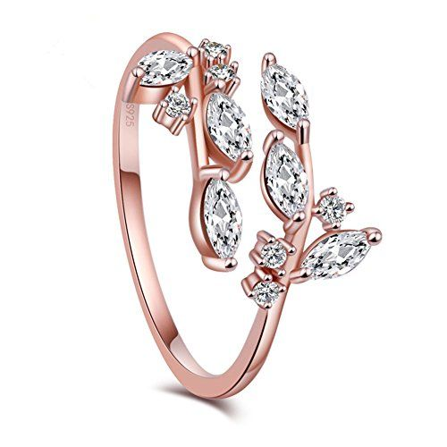 e916f8cb9 KOREA-JIAEN Branch Ring S925 Sterling Silver Plated Base ...