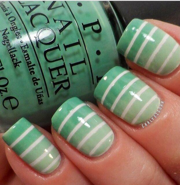 Sea Green | Nail Art | Pinterest