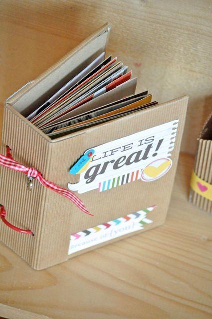 Hobby di Carta - Il blog: Life is great: Minialbum by Manu