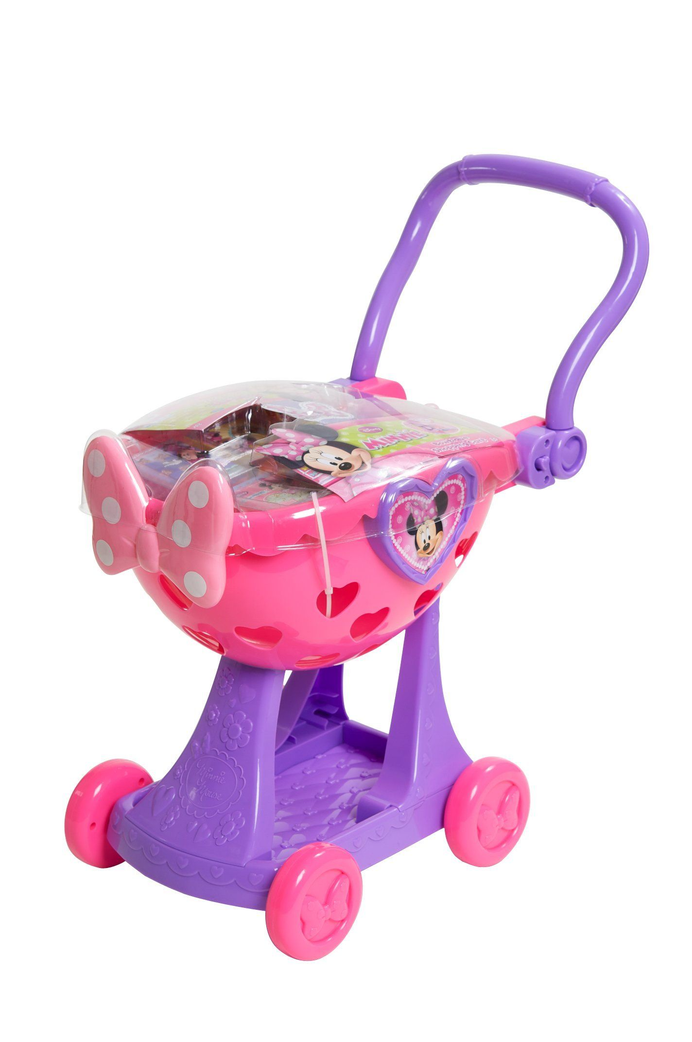fascinating New Minnie Mouse Toys Part - 14: Minnie Mouse Shopping Cart
