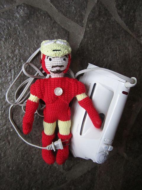 lorisav's Iron Man   Amigurumi, Creatividad