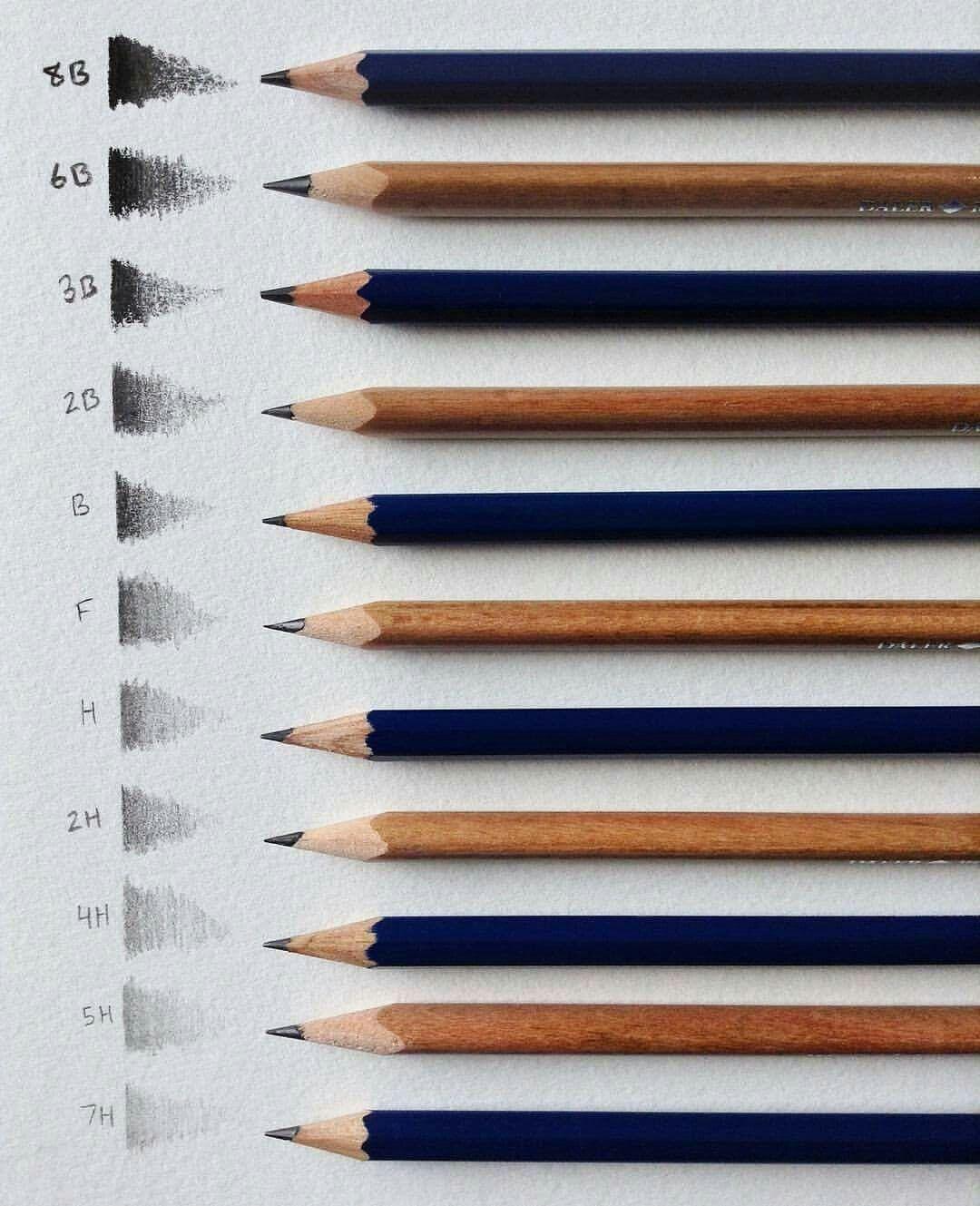 Lapices Para Dibujar Lapices De Dibujo Lapices Para Dibujar Materiales De Arte