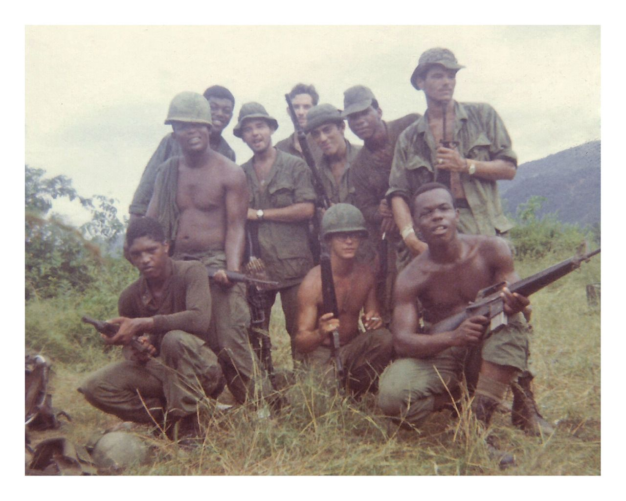 Men of A/1/6  (Company A, 1st Battalion, 6th Infantry, 198th