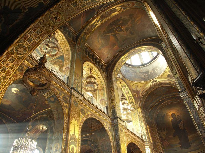 santa sofia de kiev interior - Buscar con Google | Arte bizantino ...