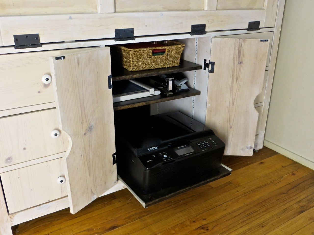 Ordinaire 70+ Printer Cabinet With Sliding Shelf   Corner Kitchen Cupboard Ideas  Check More At Http