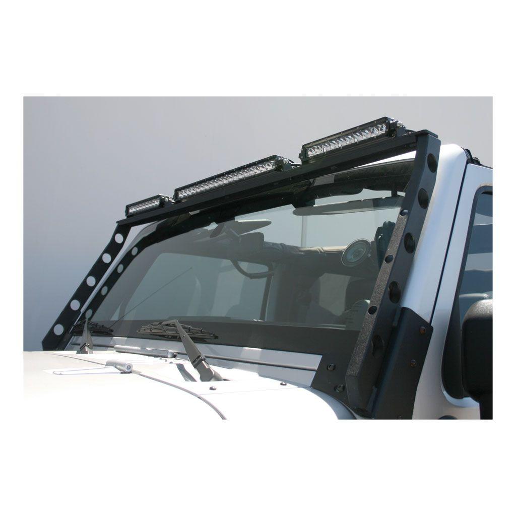 Jeep Roof Light Mounting Bracket Jeep, Jeep lights, Jeep