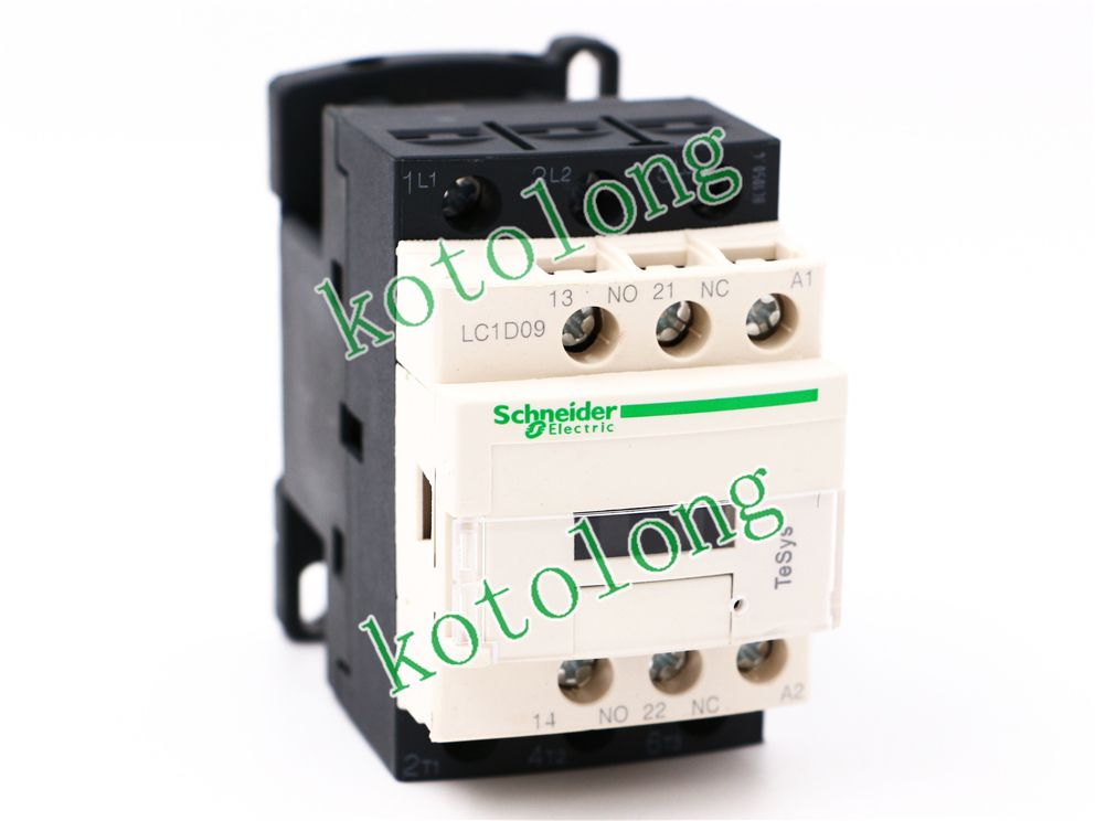 Ac Contactor Lc1d09 Lc1 D09 Lc1d09v7 400v Lc1d09w7 277v Lc1d09z7 21v Electrical Equipment Home Improvement Electronic Products