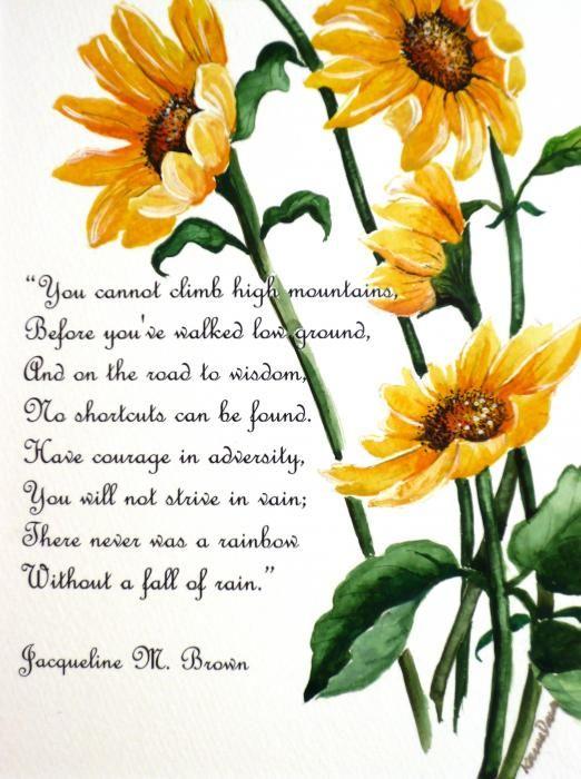 Sonnenblumen Quotes