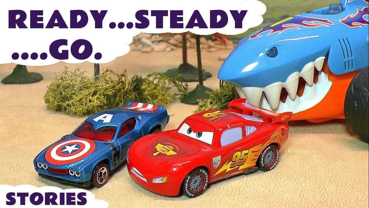 Toys car images  Disney Cars McQueen and Hot Wheels Toys Superheroes Avengers Race