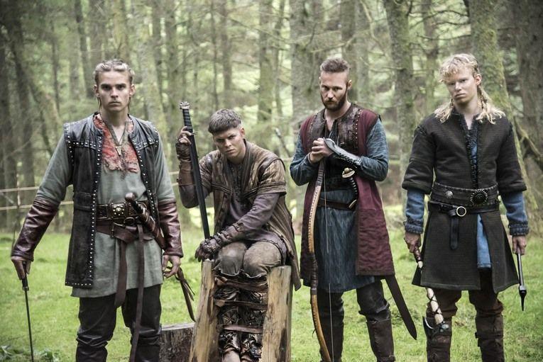 Image Vikings Meet The Four New Actors Revealed In Season 4 S Midseason Les Vikings Ragnar Vikings Vikings