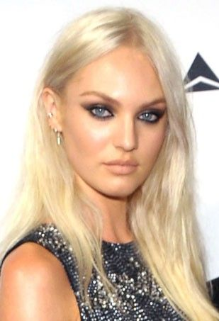 Would Candice swanepoel platinum blonde hair was