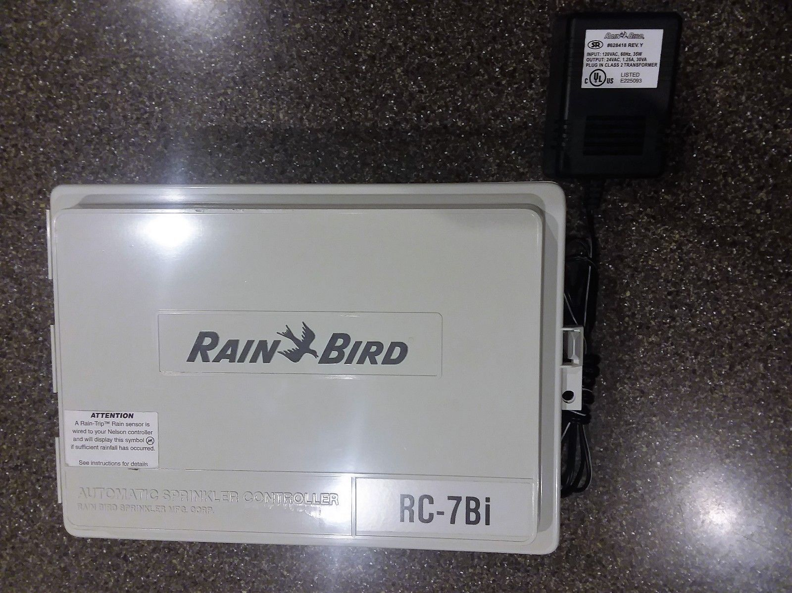Rain Bird RC-7Bi Automatic Sprinkler Irrigation Timer Controller