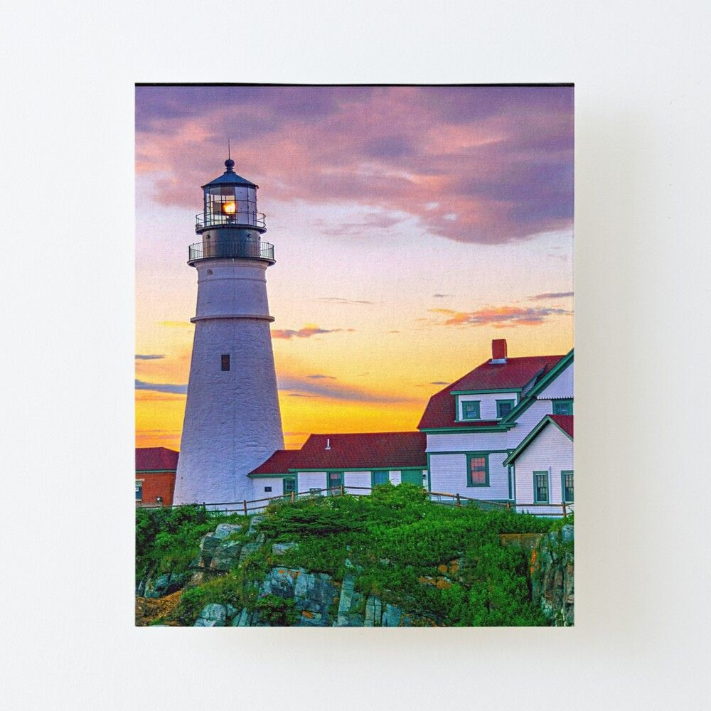"""12/""""X18/""""Meadows Lighthouse HD Canvas Print Painting Home Decor Wall Art Picture"""