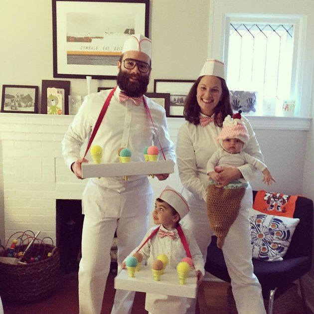 59 Family Halloween Costumes That Are Clever, Cool And Extra Cute - family halloween costume ideas with baby