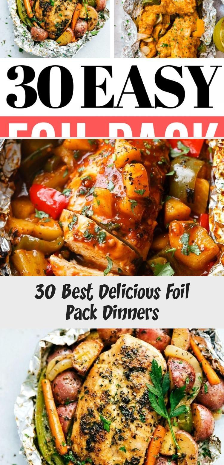 Photo of 30 Best Delicious Foil Pack Dinners  Recipes