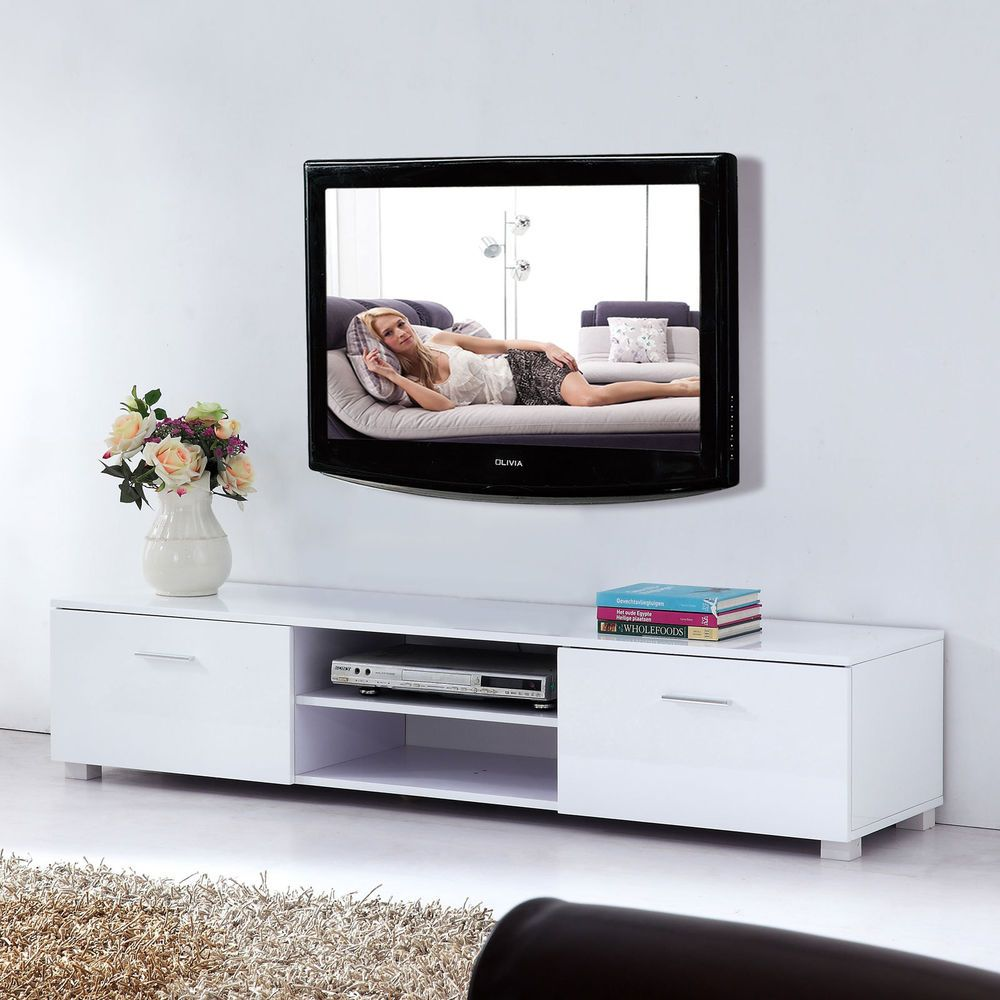 Lowboard Sideboard modern high gloss tv unit cabinet stand media lowboard
