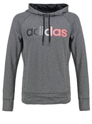 Adidas Performance Sudadera Solid Grey Black Adidas Mujer La selección de  ropa y calzado de mujer 450d2f057b2