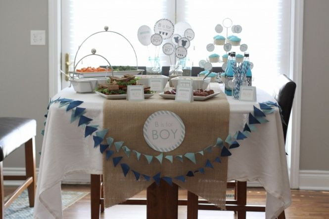 Baby Shower Ideas The Macs Blog Baby Shower Giveaways Baby Shower Table Cloths Baby Boy Shower