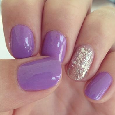 pastel  trendy nails lilac nails lavender nails