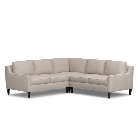 Beverly Upholstered 3-Piece L-Shaped Sectional