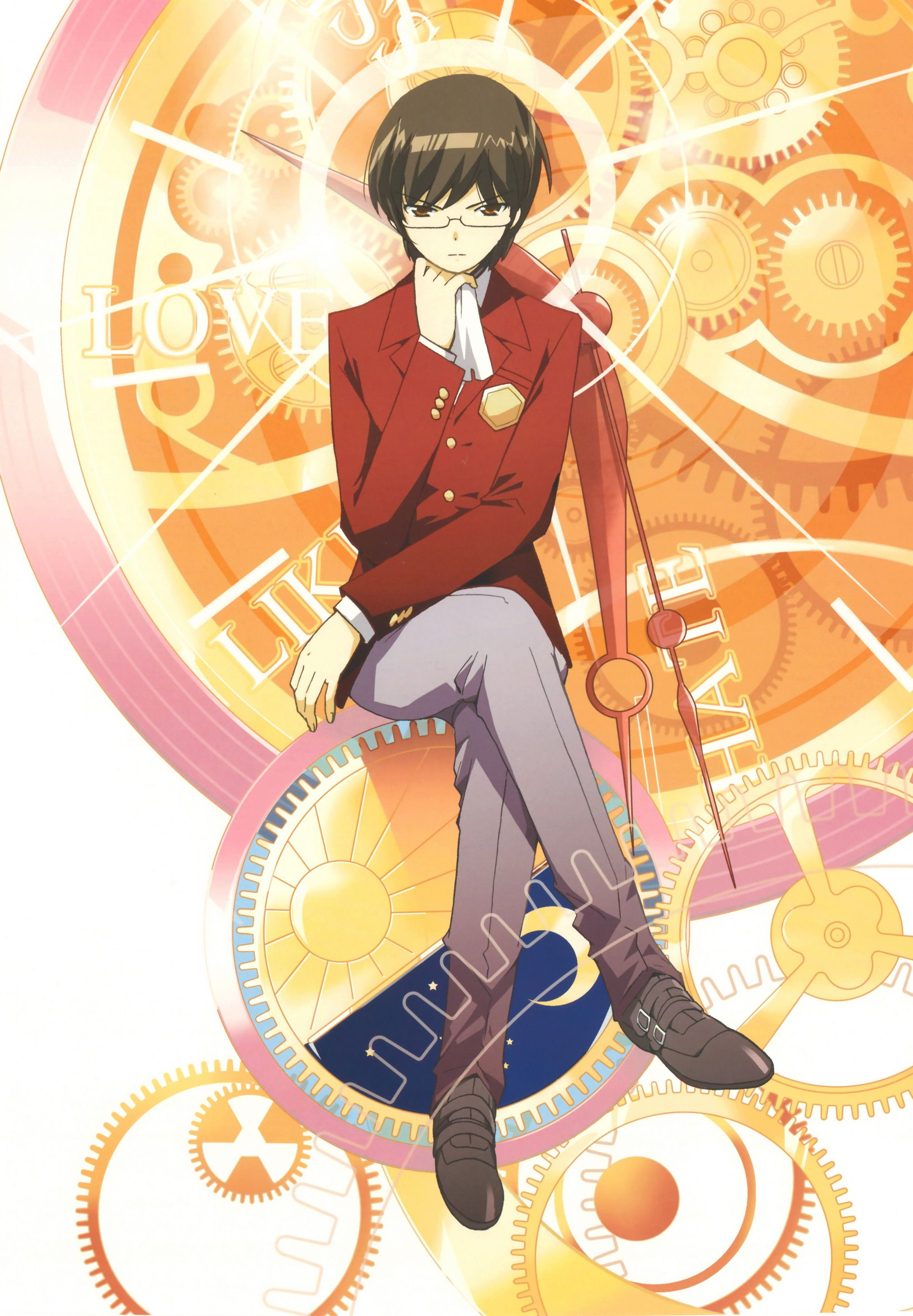 Keima Katsuragi The God Of Conquest The World God Only