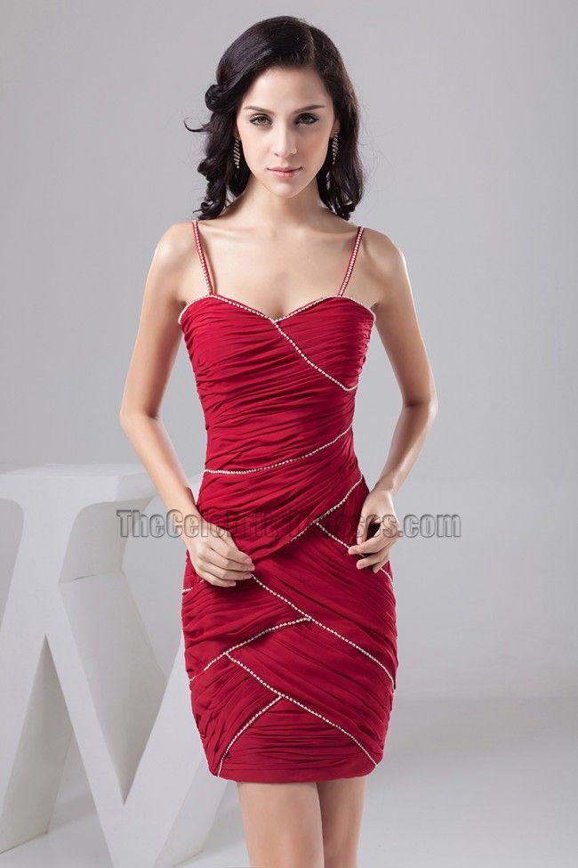 Spaghetti Strap Cocktail Dress