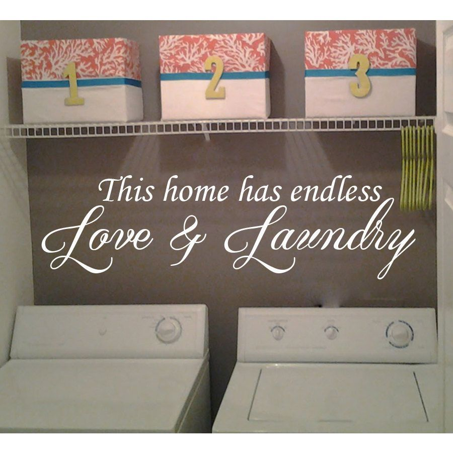 Vinyl Laundry Room Sayings Liartist Stickalzliliproduct Type Vinyl Wall Decallili