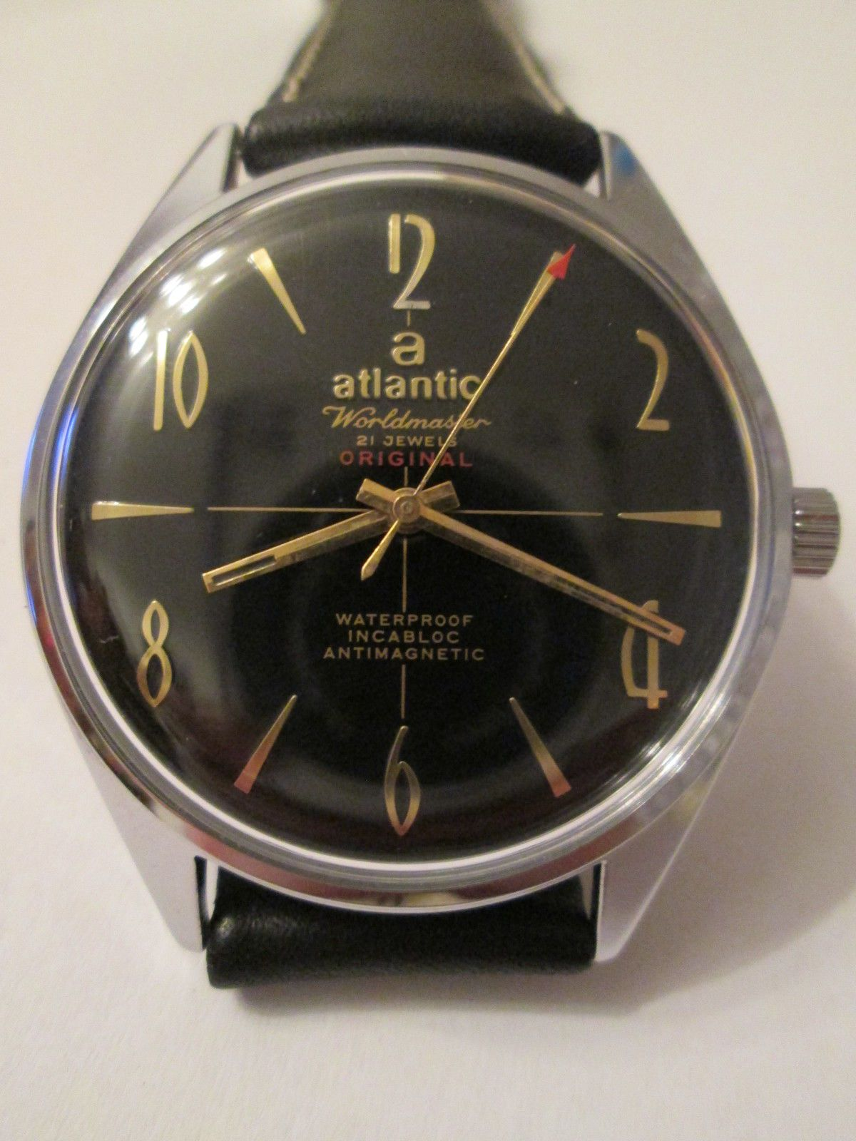 ATLANTIC WORLDMASTER 21 jewels SWISS MADE watch  4e9aceceb8
