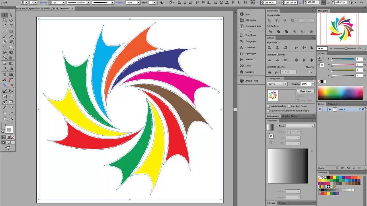 adobe illustrator cs6 simple cool new logo tutorial how to use