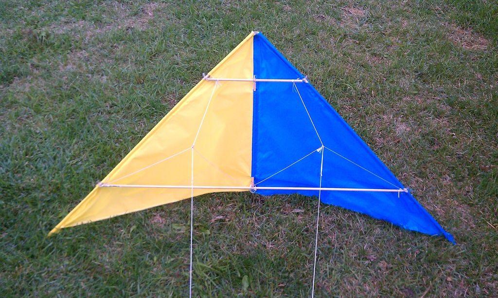 Photo of Stoff Stunt Kite von Grund auf neu .. Ohne Nähen!