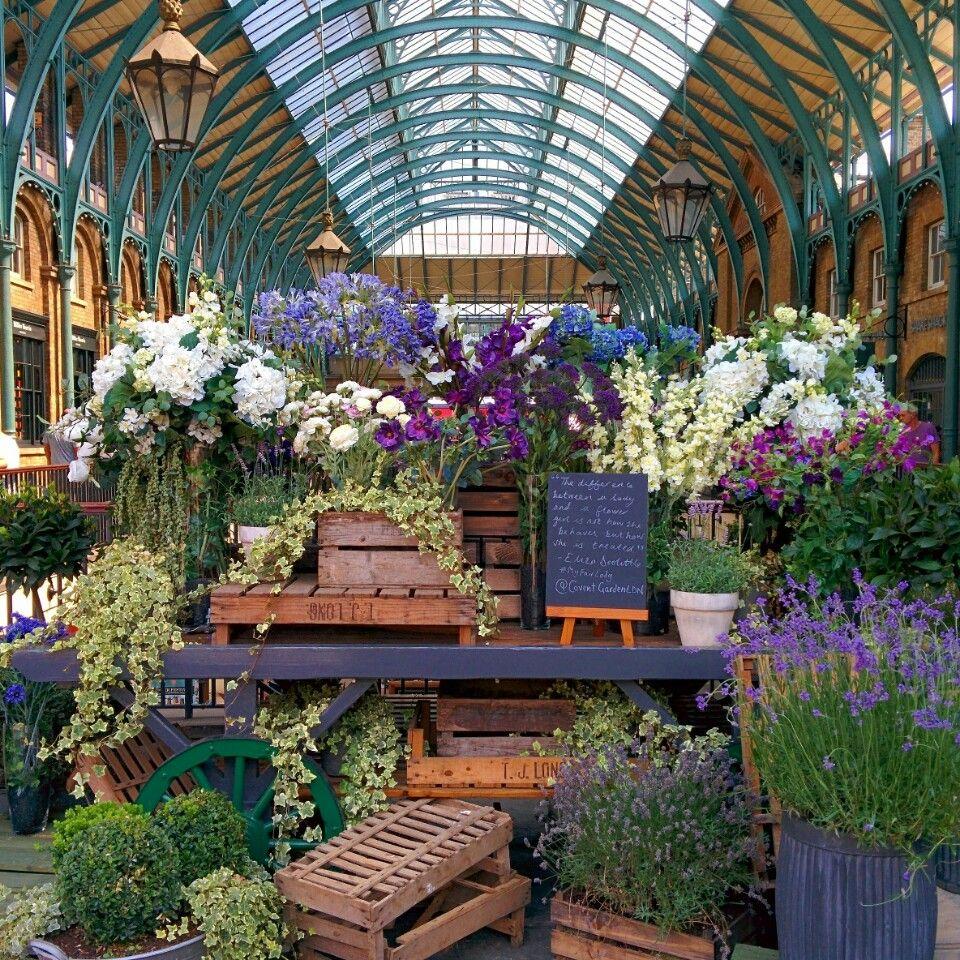 Covent Garden Market in London, Greater London