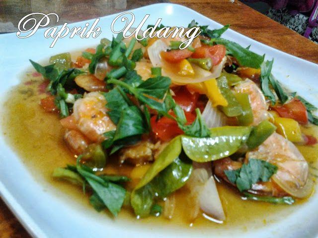 Paprik Udang Tom Yam Resep Masakan Sayuran