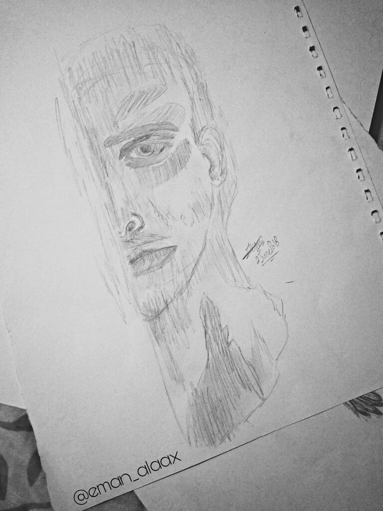 Human sad man art drawing draw drawings artist pensil drawing mydrawings whats your opinion💙👆