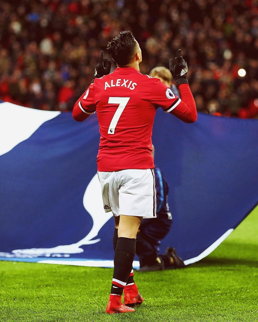 Alexis Sanchez Chile MUFC Keke