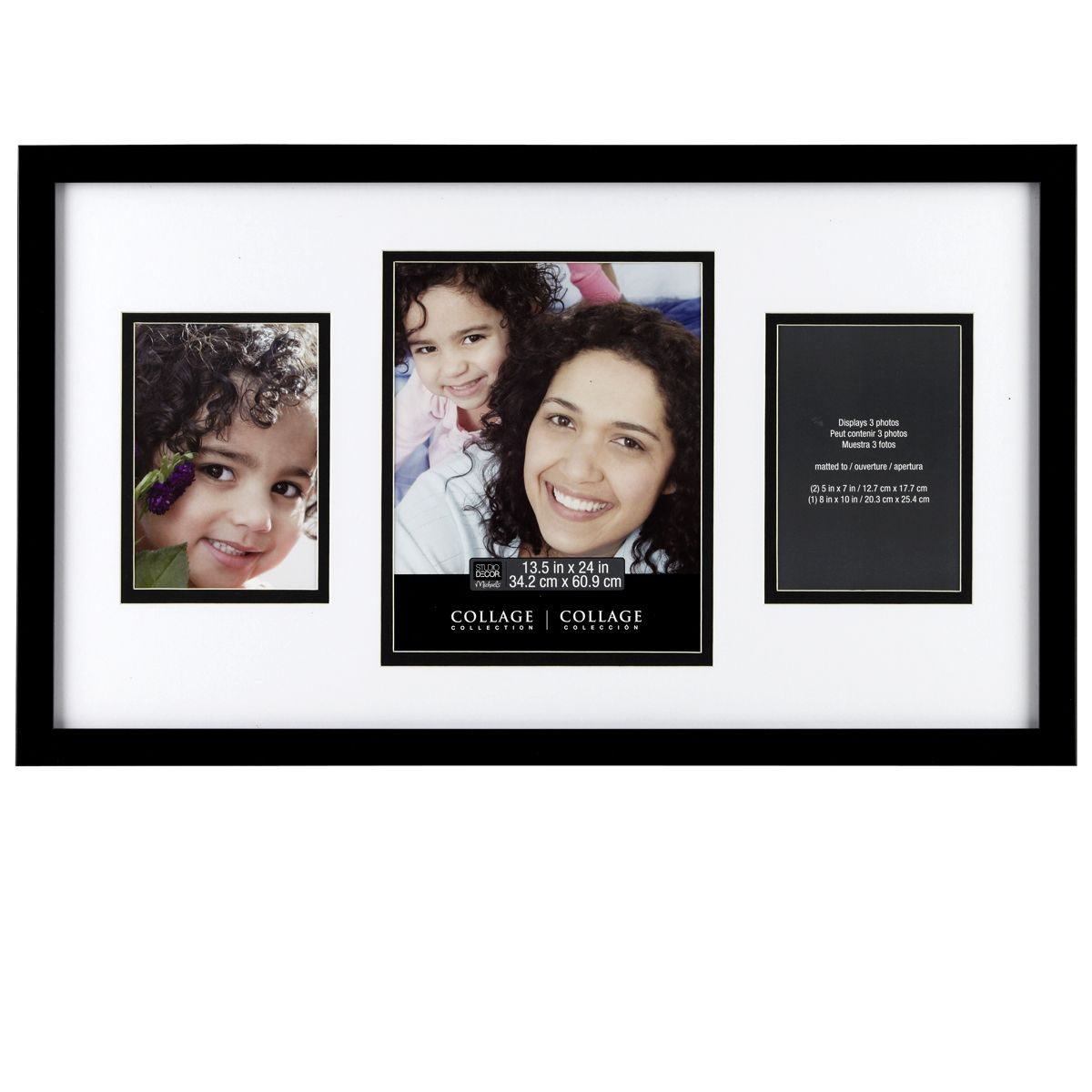 Studio Decor 3-Opening Collage Frame By Studio Décor | Collage ...