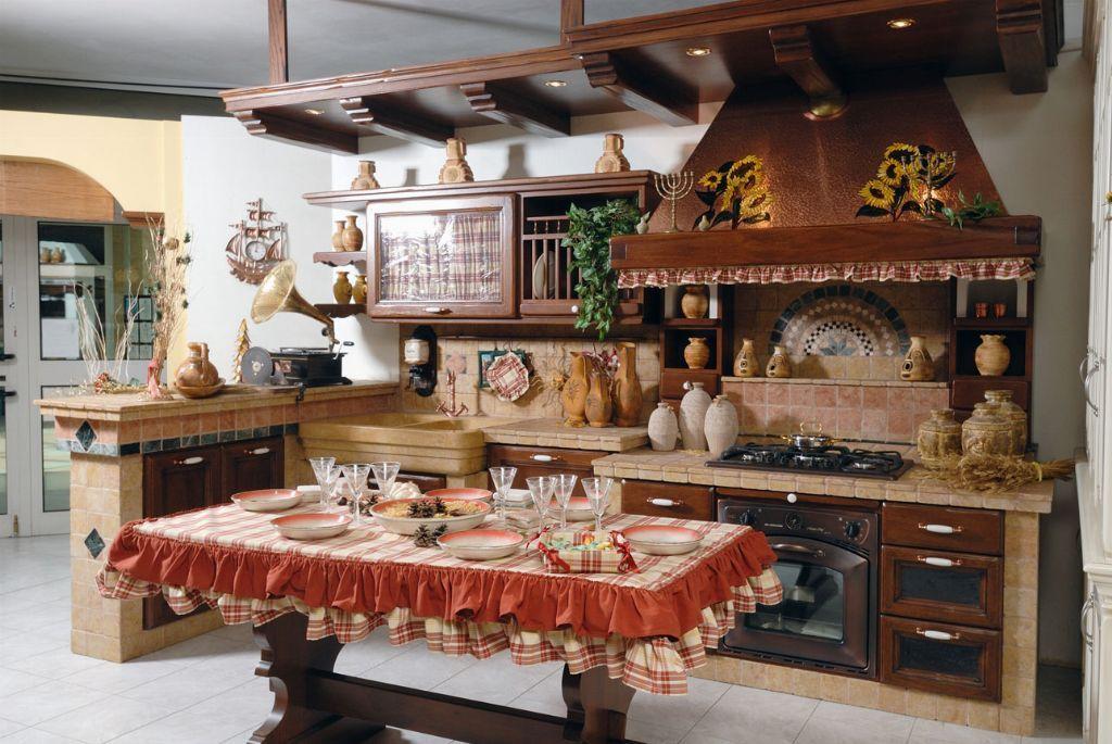 Cucine rustiche su misura e non solo   Fonte del Rustico   Casa ...