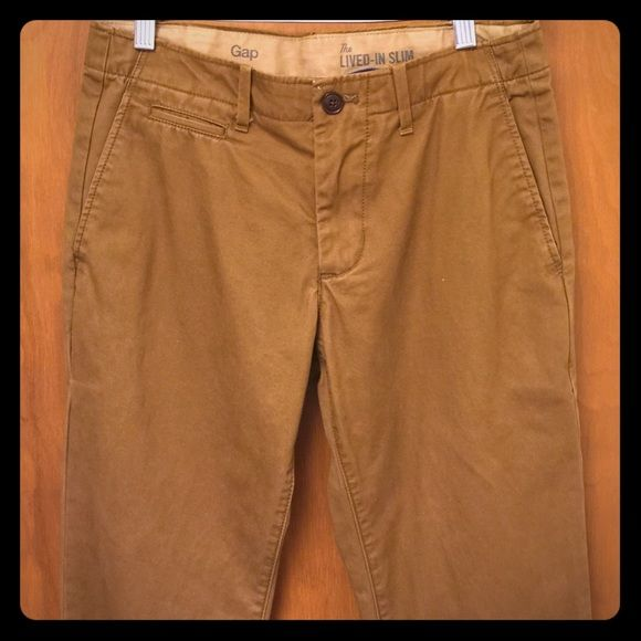 Gap 29x32 Mens The lived in Slim dress pants New condition. 29x32 GAP Pants Straight Leg
