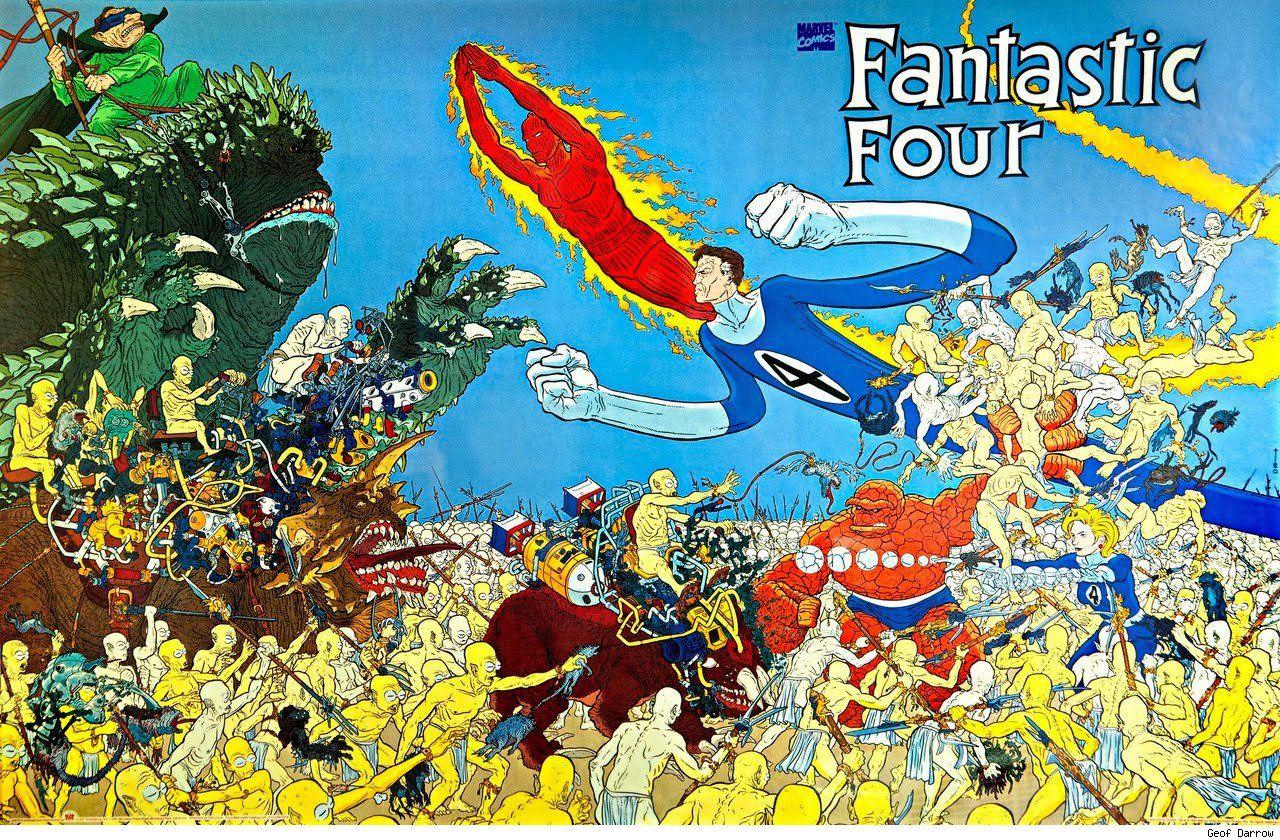 Fantastic four by Geof Darrow