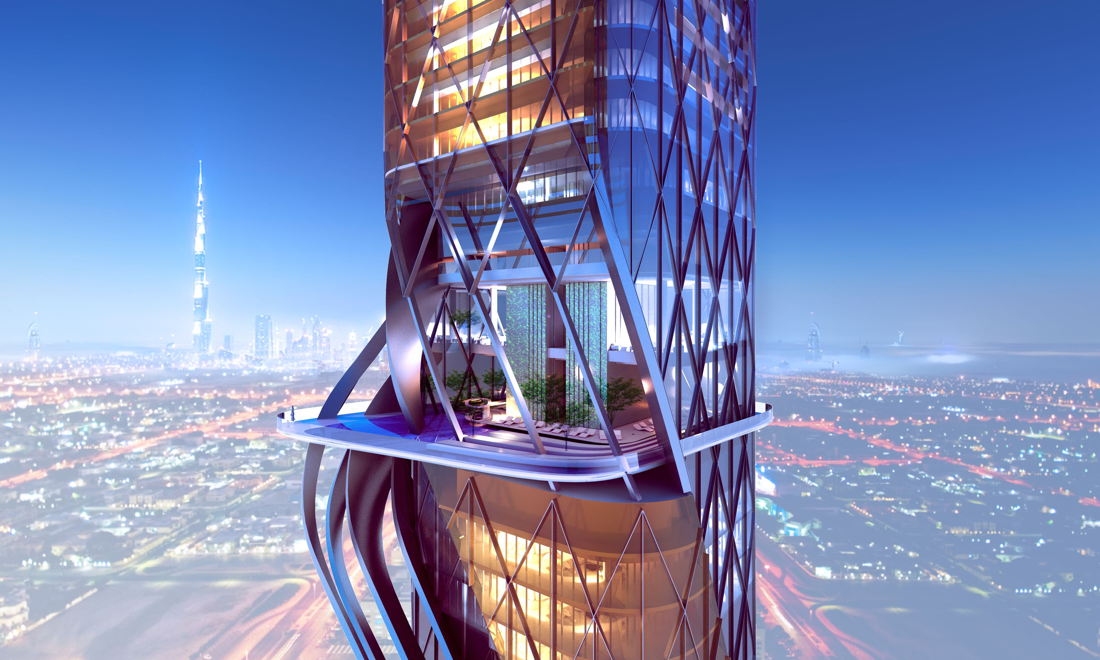 New Dubai Towers Will Have Indoor Rainforest And Manmade Beach New Dubai Towers Will Have Indoor Rainforest And Manmade Beach new photo