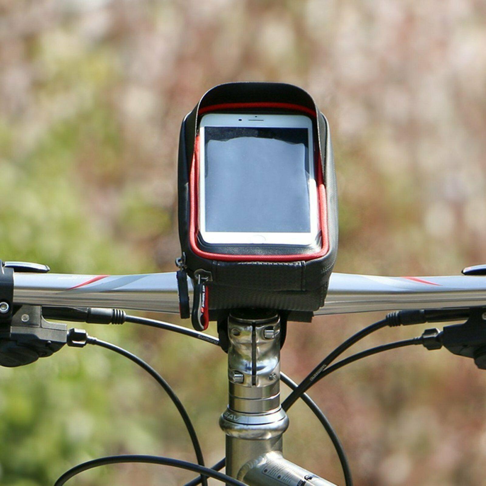 Xphonew Bike Handlebar Bag Bicycle Phone Mount Waterproof