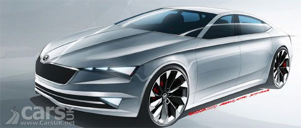 Skoda Vision C Concept Is A Stylish 5 Door Coupe Concept Cars