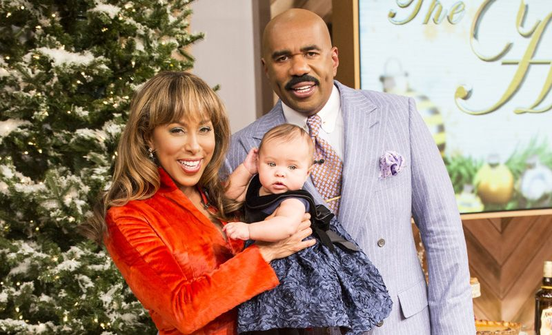 Image result for The Harvey Family - How Many Kids Does Steve Harvey Actually Have?