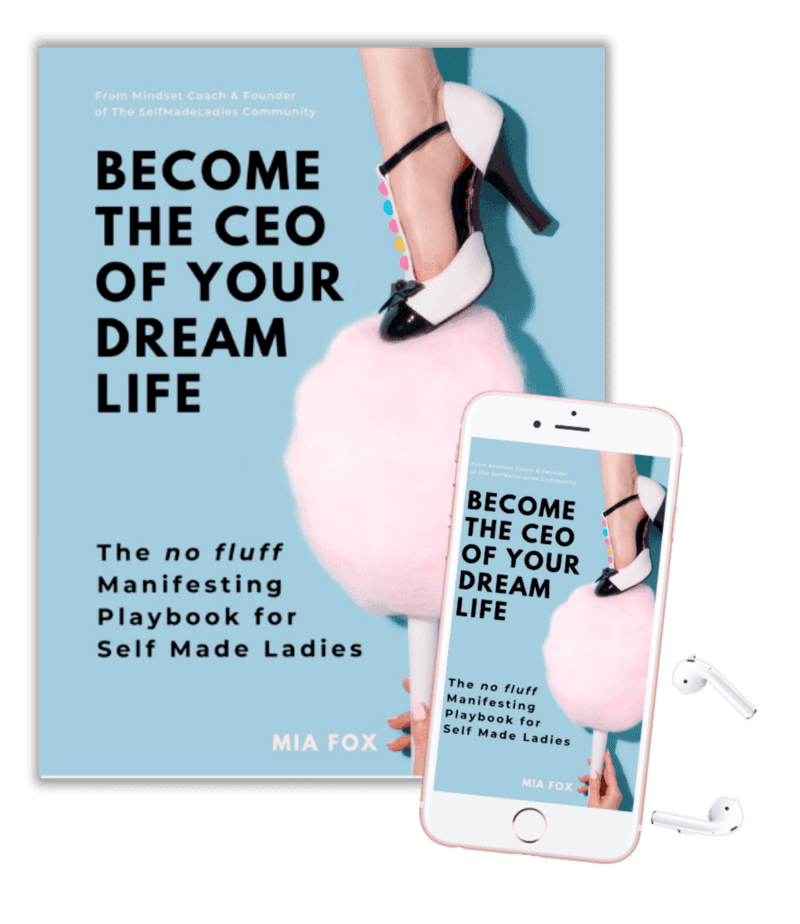 Become the CEO of Your Dream Life Manifesting Book - Manifest The Life You Love - With Mia Fox