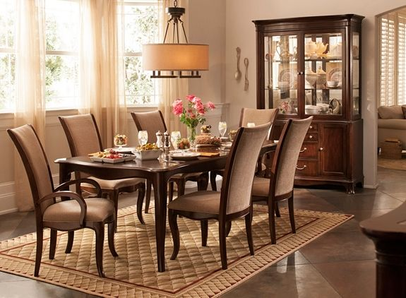 Keira 7 Pc Dining Set Dining Dining Room Furniture Dining Set