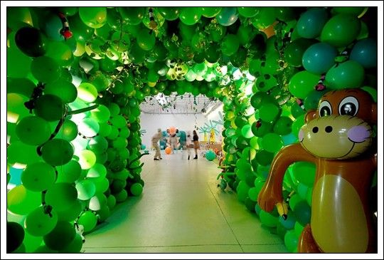decoracion infantil jungla