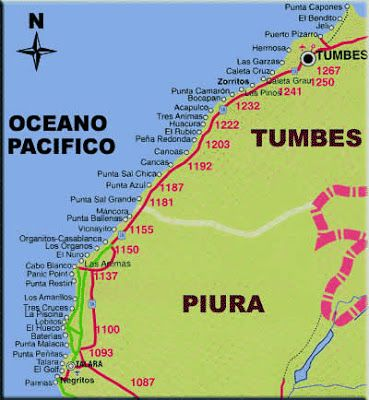 Playas de Piura, Piura Beaches, Perù, Playas Mas Hermosas